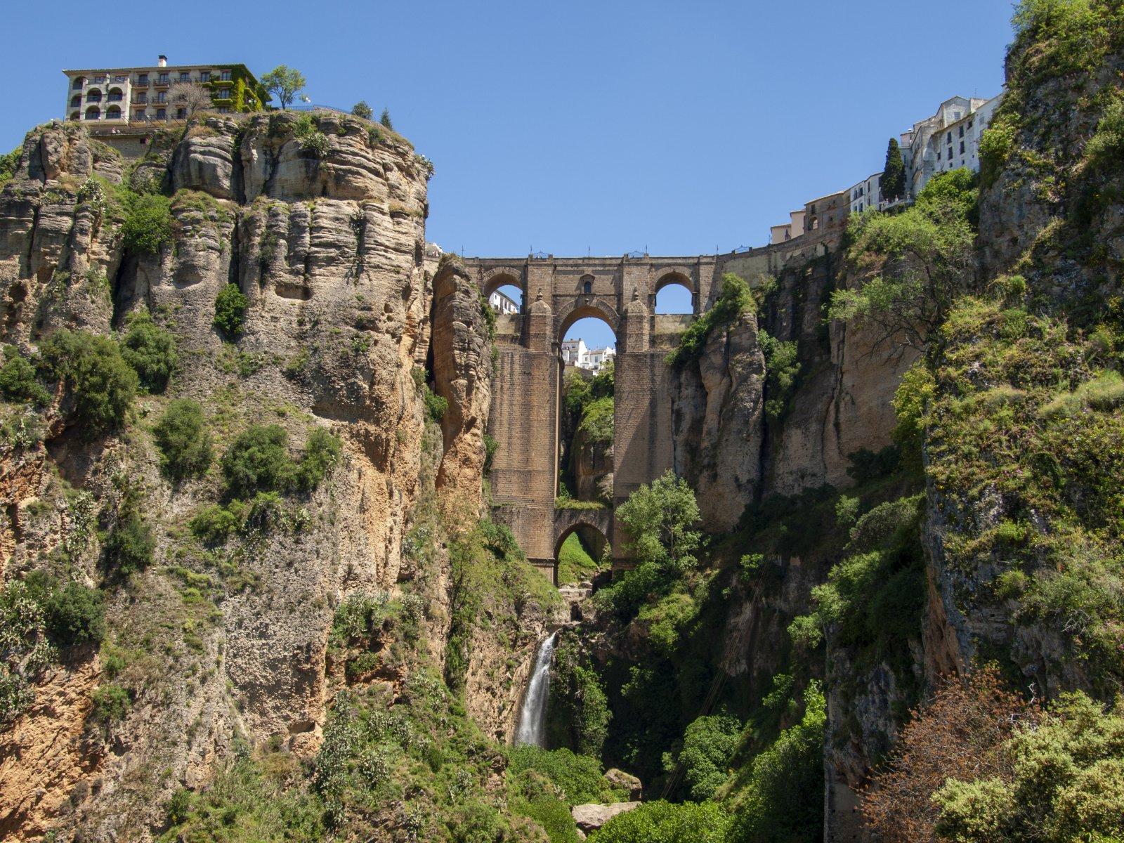 Puente Nuevo at Ronda, Spain