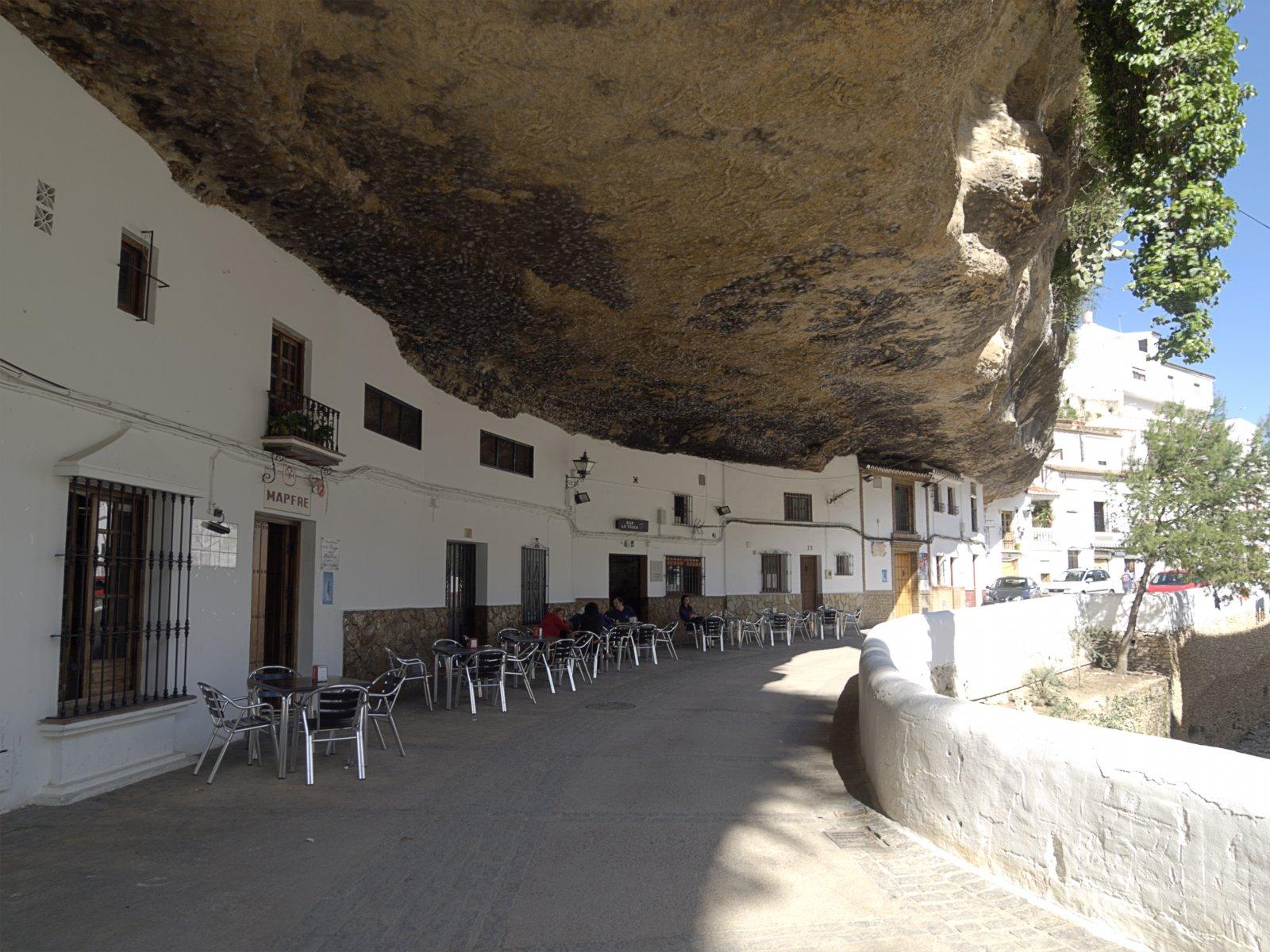 Cave Houses at Setenil de las Bodegas, Spain