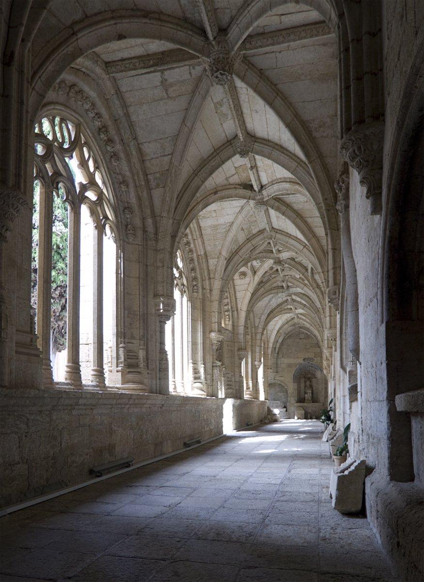 Cloister at the Cathedral of Ciudad Rodrigo, Spain