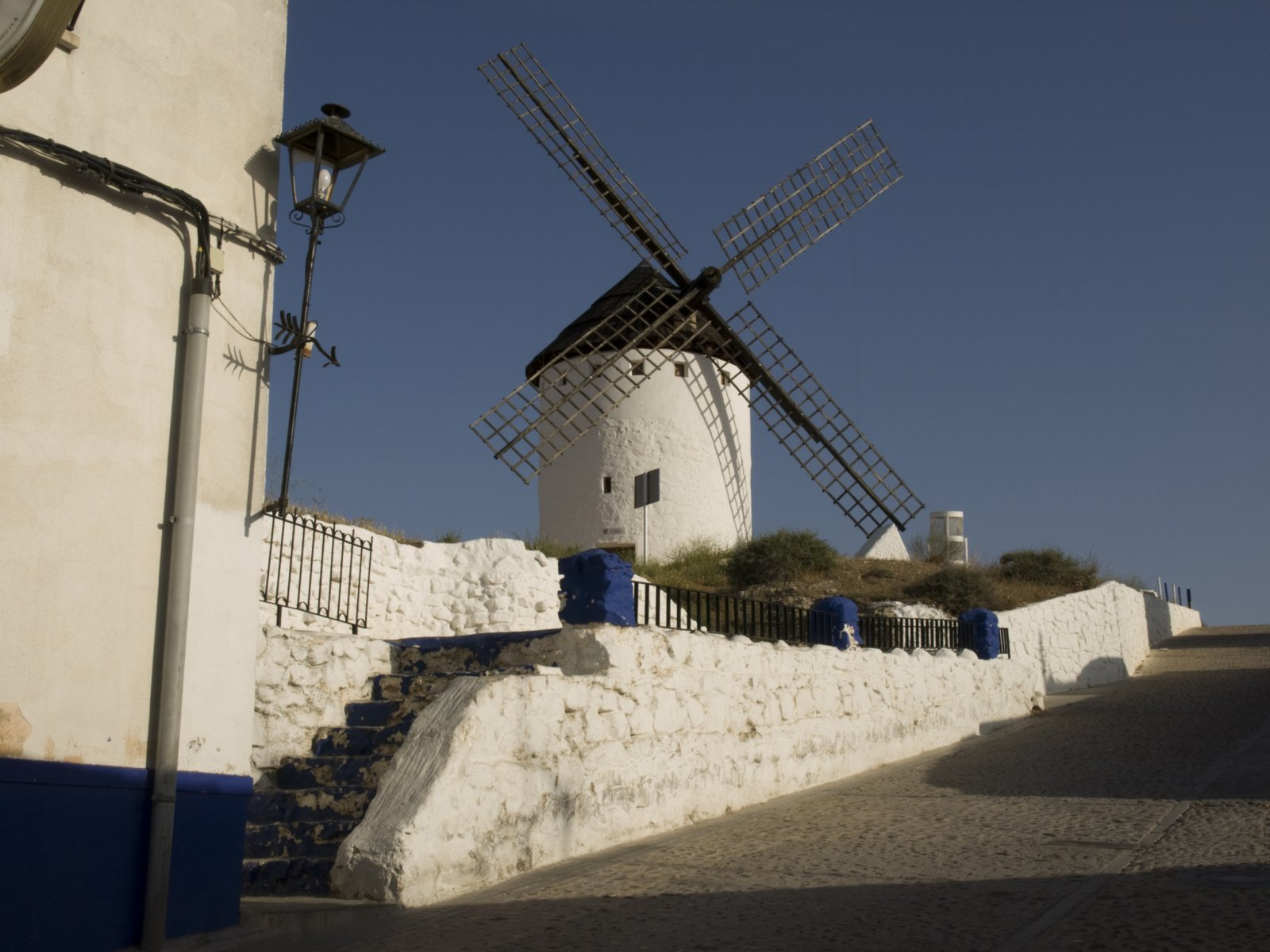 Windmill at Campo de Criptana, Spain