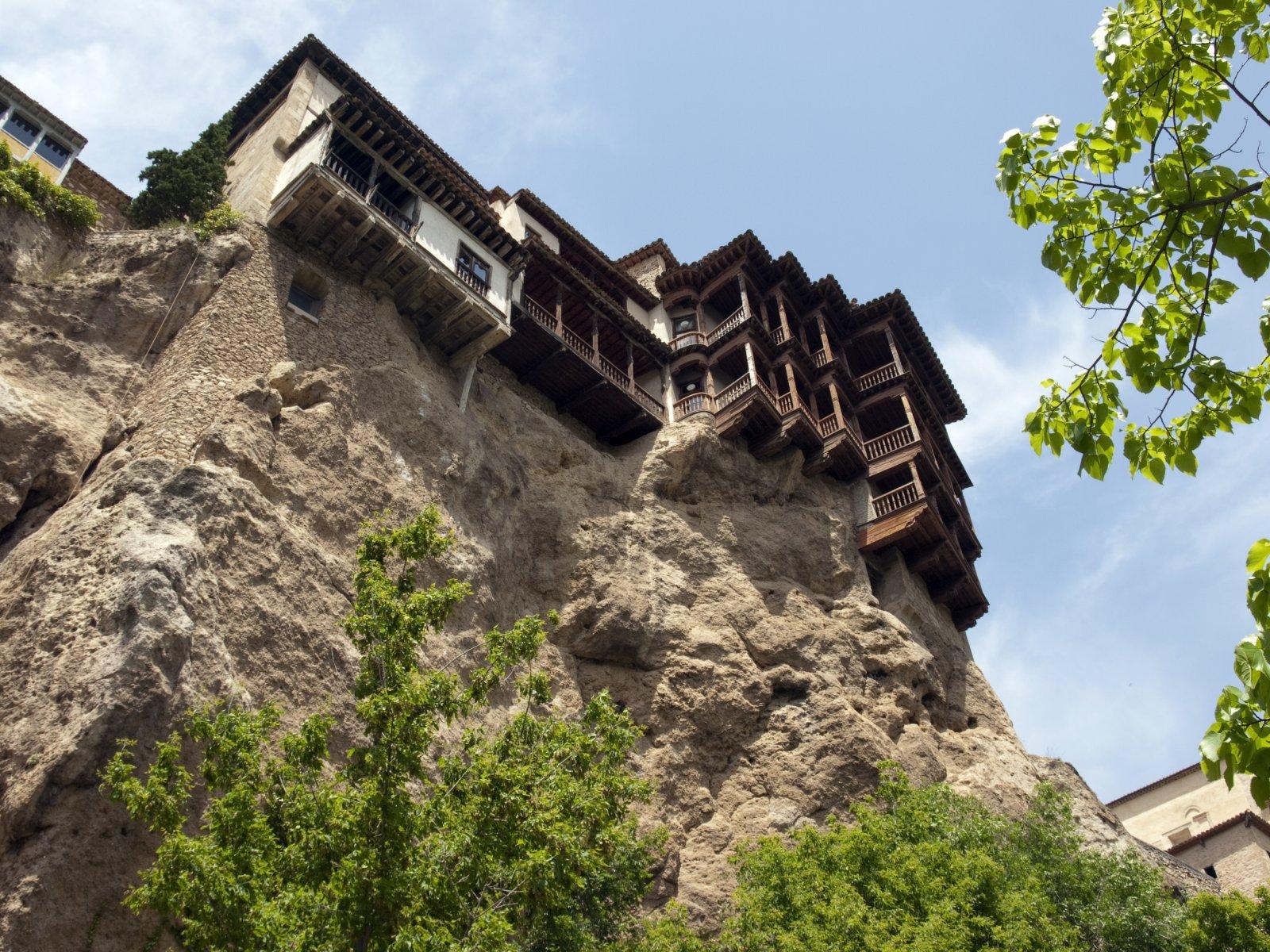 Las Casas Colgadas at Cuenca, Spain