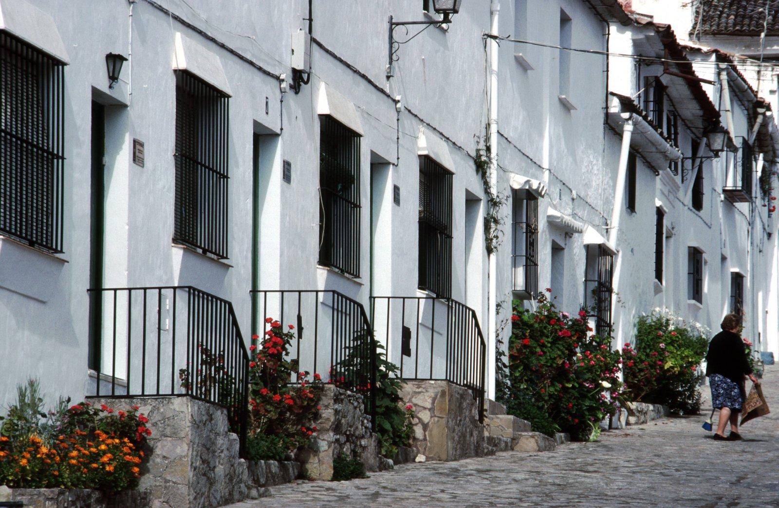 Street in Grazalema, Andalusia